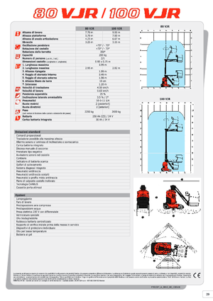 Вертикальный телескопический подъёмник Manitou 100 VJR Evolution